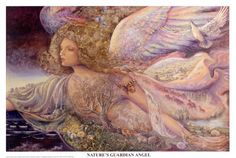 Natures Guardian Angel - by Josephine Wall