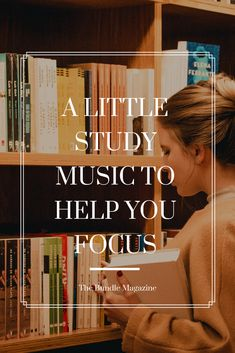 A Little Study Music to Help You Focus Study, Cover, Music, Musica, Studio, Musik, Slipcovers, Muziek, Studying