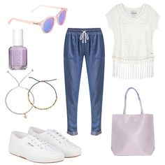 OneOutfitPerDay 2016-08-18 - #ootd #outfit #fashion #oneoutfitperday #fashionblogger #fashionbloggerde #frauenoutfit #herbstoutfit - Frauen Outfit Outfit des Tages Sommer Outfit Armband Essie Jogginghose Le Specs Sneaker Sonnenbrille Stoffhose Superdry Superga T-Shirt Tasche