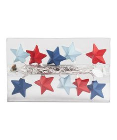 Take a look at this Stars Light String by tag on #zulily today!