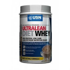 Usn Ultra Lean Diet Whey γεύση φράουλα 800g