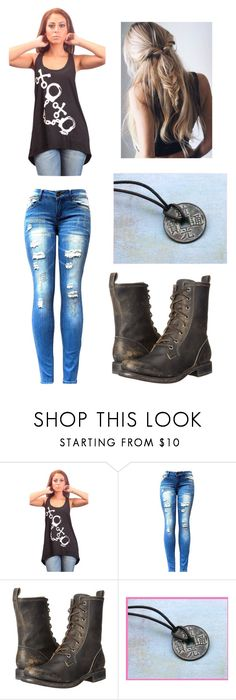 """""""Leon 2"""" by bleachismylife ❤ liked on Polyvore featuring Frye"""