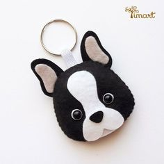 Shop for Cody Foster British Bulldog Ornament at ShopStyle. Felt Crafts Diy, Sewing Crafts, Felt Keychain, Felt Dogs, Felt Patterns, Dog Pattern, Felt Fabric, Animal Crafts, Sewing Projects For Beginners
