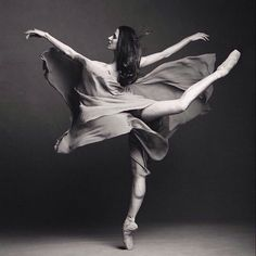 So beautiful. Grace, amazing strength, and physical control. Ballet is an astonishing art.