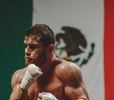 Canelo Alvarez reminds us that working out leads to a healthy mind. Boxing Training, Boxing Workout, Muay Thai, Fighter Workout, Boxing Images, Boxing Posters, Canelo Alvarez, Professional Boxing, Ufc Boxing
