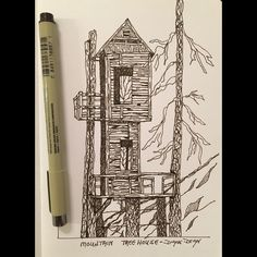 Photo cred to Will Myer. #penandink #pensketch #inkdrawing #archisketch #etsyseller dyanswatercolors.etsy.com Traditional Artwork, Pen Sketch, Etsy Seller, Training, Cook, Drawings, Illustration, Recipes, Illustrations