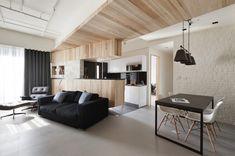monochromatic living area