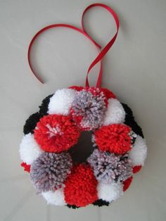 Hand Knitted Christmas Pudding Covers For Ferrero Rocher
