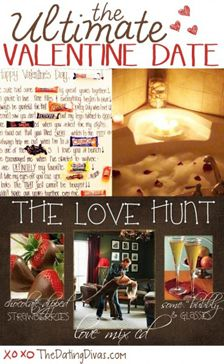 Dating divas valentines day scavenger hunt