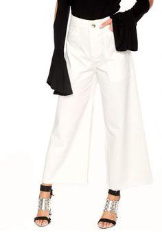 065ae740cc Colcci calça sarja colcci pantacourt hailey branca