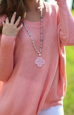 FREE! Clover Necklace with ANY $40 order!!