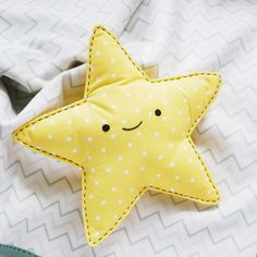 Easy-Sew Star Snuggler // wild olive