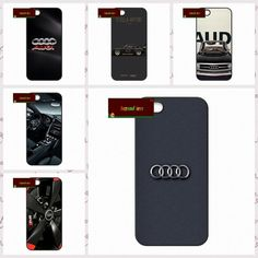 Cover case for iphone 4 4s 5 5s 5c 6 6s plus samsung galaxy S3 S4 mini S5 S6 Note 2 3 4 For Audi Car Logo  JY0061