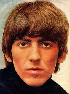 GEORGE HARRISON COLOR CLOSE UP