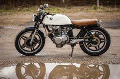 Custom Honda CB250N, Brat Style, Cafe Racer, Street Tracker