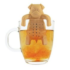 They'll love the Pug in a Mug #Tea Infuser! #GiftIdeas #Canada #Christmas  http://giftideascanada.com/pug-tea-infuser/
