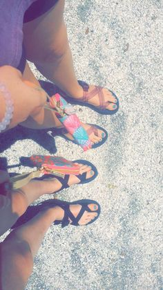 Lilly wristlets and Chacos