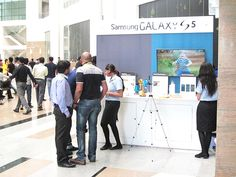 Brand Activation for Samsung S5 Launch all over India. Get a free design http://www.expodisplayservice.ae/FreeDesign.aspx