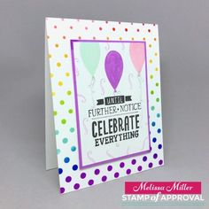 Mel's Card Corner | Counting Blessings Meets Rainbow Maker