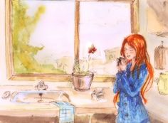 morning coffee/ஐღ♡ღஐ