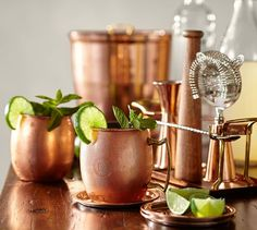 Use Pottery Barns Wedding Registry & Bridal Registry to create a gift registry with ease or quickly update and manage your current wedding registry. Copper Bar, Copper Mugs, Copper Table, Copper Moscow Mule Mugs, Bridal Registry, Nickel Plating, Free Interior Design, Bar Tools, Crate And Barrel