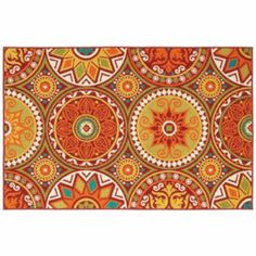 Perfect rug to bring all the colors of my home together <3