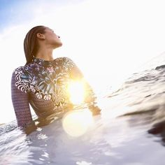 Featured Photographer: @jesseplume.  This is a shot I set up of professional surfer @maddiepeterson_. I'm always interested in bringing the lifestyle look and feel to #GoPro Imagery. Sometimes the most beautiful moments are the quiet in-between ones. Maddie had paddled out at #RockyLefts and even though we got some killer surf shots out of it, my favorite was this shot of her waiting for the right wave. #GoPro