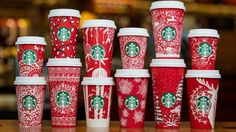 Starbucks Debuts 13 New Red Holiday Cups for 2016 Season: Watch! - Us Weekly