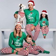 VVTS Family Christmas Pajamas Set Striped Pyjamas Set Family Look Matching Family Christmas Pajamas Navidad Family Matching Set Womens Christmas Pajamas, Xmas Pjs, Holiday Pajamas, Christmas Pjs, Christmas Clothes, Matching Christmas Outfits, Matching Family Christmas Pajamas, Matching Pajamas, Matching Family Outfits
