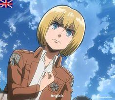 Armin Arlert Nationality - England #SNK