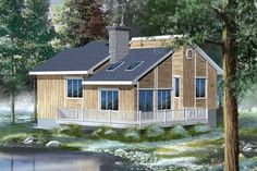 House Plans And More, Best House Plans, Small House Plans, Plan Chalet, Rustic House Plans, Surface Habitable, Cottage House Plans, Construction, Build Your Dream Home