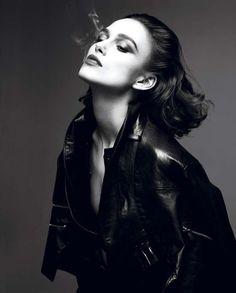Dark Rebellious Editorials  Keira Knightley Stars in the Interview Magazine April 2012 Cover Shoot