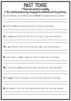 This reading and grammar pack will provide your students with plenty of opportunities to practice their reading and their grammar. Many of the activities require students to re-write the sentences using the correct grammar focus, meaning they are practicing a their handwriting, their punctuation and their spelling.  grammar reading writing punctuation spelling teaching classroom learning no prep printable worksheet activity verb tense past tense
