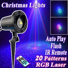 Sensible Christmas Rf Remote Control Rgb Static Starry Laser Outdoor Light Dj Led Stage Light Party Lights Garden Lamp Outdoor Lighting Lights & Lighting