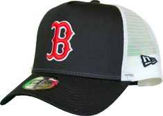 Boston Red Sox New Era Team Essential Trucker Cap. GorrasEquipos MlbMedias  Rojas De BostonSnapbackAzul Marino 4ea0e69d181