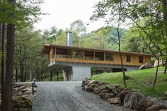 蓼科の森の家|横内敏人建築設計事務所
