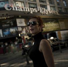 Kristýna Frejová nezapomněla v Paříži navštívit i proslulou ulici Champs Eysées