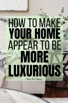 Have you wished that it had more of a staged, organized look? I am here to share with you how to make your home look more expensive on a dime. Diy Home Decor On A Budget, Diy Home Decor Projects, Affordable Home Decor, Decorating Your Home, Diy Décoration, Easy Diy, Expensive Art, A Dime, Home Living