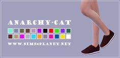Anarchy-Cat: Madlen`s Torun Sneakers recolors • Sims 4 Downloads