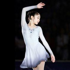 Yuna Kim Kim Yuna, Figure Skating Dresses, Ballet, Queen, Female, Beauty, Fashion, Moda, Ice Dance Dresses