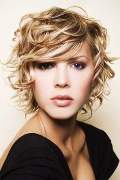 Los mejores cortes de cabello y peinados para mujer otoño invierno 2015-2016 | Pelo Rizado media melena