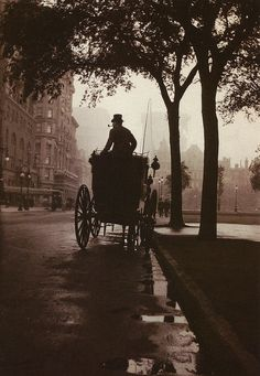 (via Central Park, New York, c. 1900, from Anonymous by Robert Flynn Johnson | Flickr - Photo Sharing!)