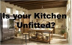 Is your Kitchen Fitted or Unfitted? Unfitted Kitchen, Communal Kitchen, Baths Interior, Built In Pantry, Cabinet Door Styles, Everyday Dishes, Kitchen And Bath Design, Plate Racks, Larder