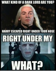 Voldemort's Nose... Harry Potter