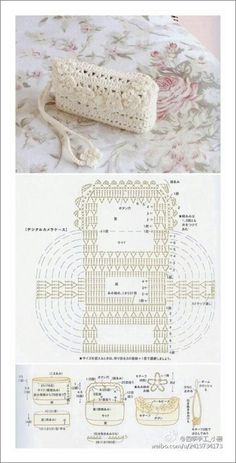 Crochet bags purses 372109987945861445 - monederos crochet Source by Crochet Diy, Crochet Pouch, Crochet Gratis, Crochet Diagram, Crochet Chart, Crochet Stitches, Crochet Patterns, Crochet Handbags, Crochet Purses