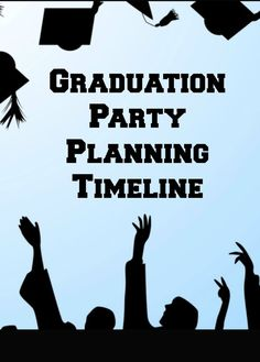 Throwing a graduation party? Then we have you covered with this graduation party planking timeline for a stress free party.  From invitation to gift ideas