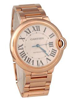 Cartier Rose Gold Midsize Ballon Bleu- Gorgeous!