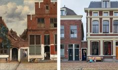 "Exact Location of Vermeer's ""The Little Street"" Discovered | Hyperallergic | Bloglovin'"