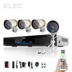 ELEC-8CH-960H-HDMI-CCTV-Security-DVR-700TVL-Home-Surveillance-camera-system
