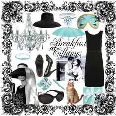 Breakfast At Tiffany party concept